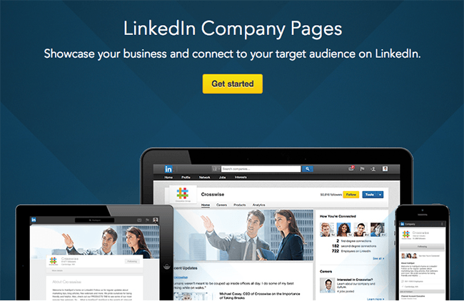 LinkedIn Pages